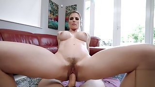 Portray Mom Yoga Instructor Fucked by Portray Son with Huge Horseshit - Cory Chase