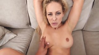 White man milf Cherie Deville in In hot water By My