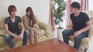 Uncensored gorgeous firm titted Japanese unfocused DPed